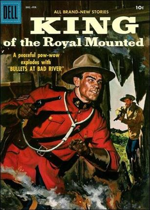 King of the Royal Mounted 23-A