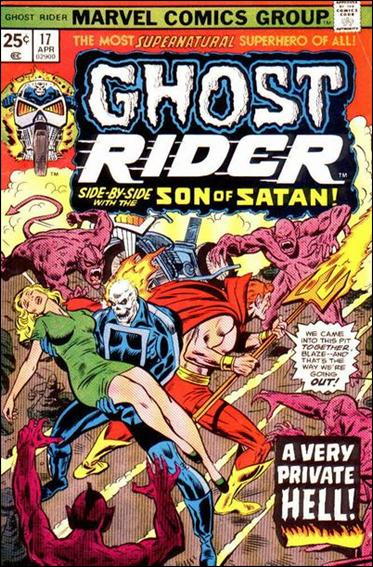 Ghost Rider (1973) 17-A by Marvel