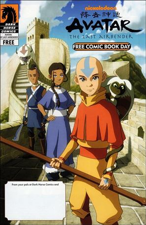 Free Comic Book Day and Nickelodeon Avatar: The Last Airbender / Free Comic Book Day and Star Wars: The Clone Wars nn-A