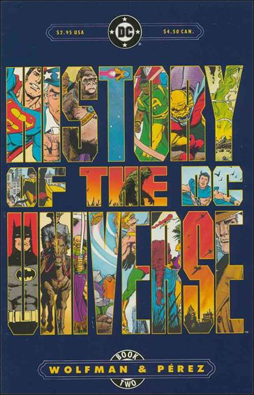 History of the DC Universe 2-A by DC
