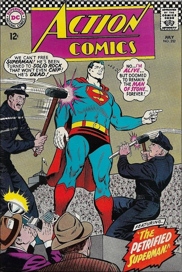 Action Comics (1938) 352-A by DC
