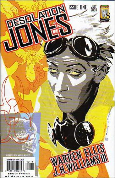 Desolation Jones 1-A by WildStorm