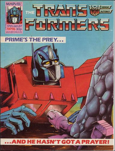 Transformers (UK) 96-A by Marvel UK