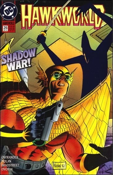 Hawkworld (1990) 26-A by DC