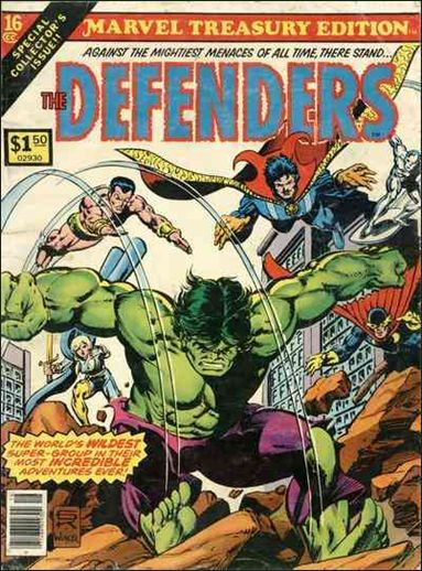 Marvel Treasury Edition 16-A by Marvel