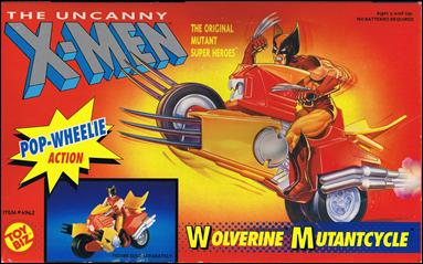 "X-Men 5"" Vehicles Wolverine Mutantcycle by Toy Biz"