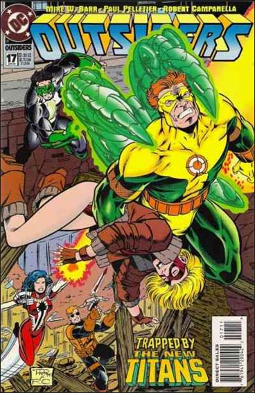 Outsiders (1993) 17-A by DC