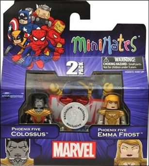 Marvel Minimates (Exclusives) Phoenix Five Colossus and Phoenix Five Emma Frost