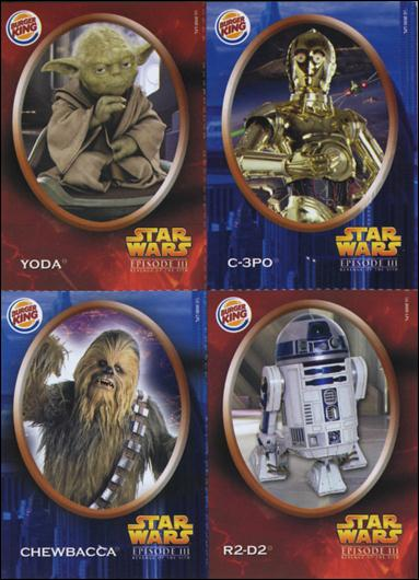 Star Wars: Episode III Revenge of the Sith Burger King Stickers (Promo) nn1-A by Lucasfilm Ltd.
