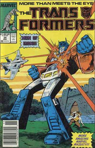 Transformers (1984) 34-A by Marvel