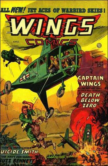 Wings Comics (1940) 124-A by Fiction House Magazines