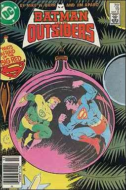 Batman and the Outsiders (1983) 19-A by DC