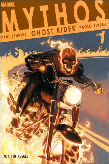 Mythos: Ghost Rider 1-B by Marvel