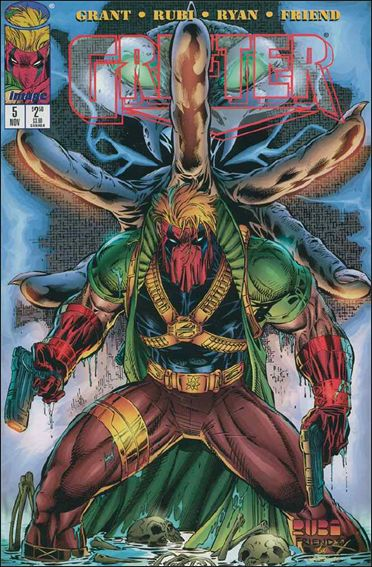 Grifter (1996) 5-A by Image