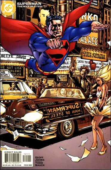 Superman: The Man of Steel 121-A by DC