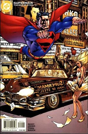 Superman: The Man of Steel 121-A