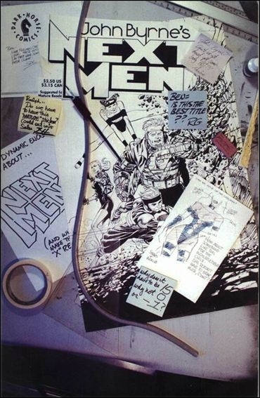 John Byrne's Next Men (1992) 15-A by Dark Horse