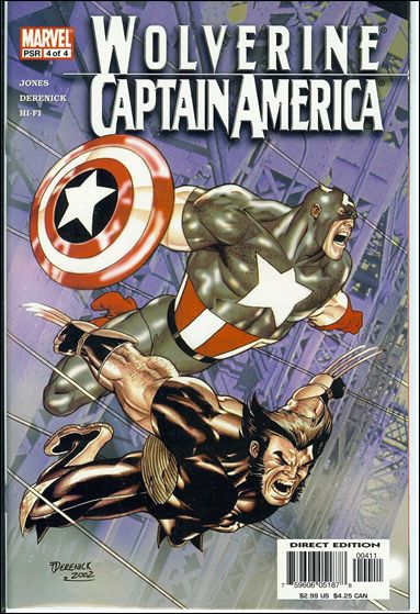 Wolverine/Captain America 4-A by Marvel