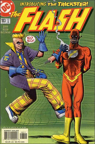 Flash (1987) 183-A by DC