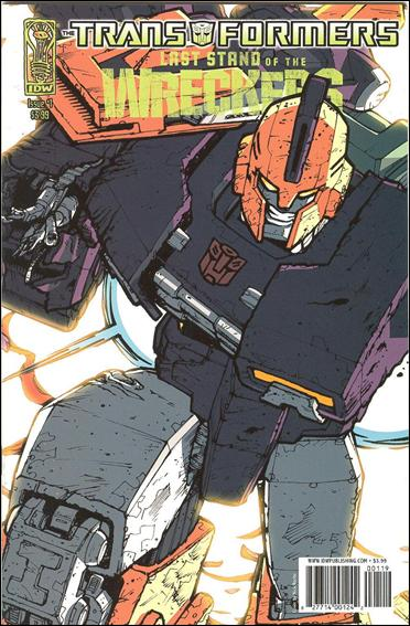 Transformers: Last Stand of the Wreckers 1-D by IDW
