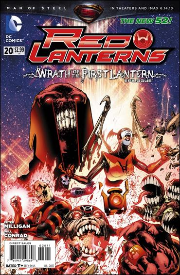 Red Lanterns 20-A by DC
