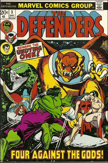 Defenders (1972) 3-A by Marvel