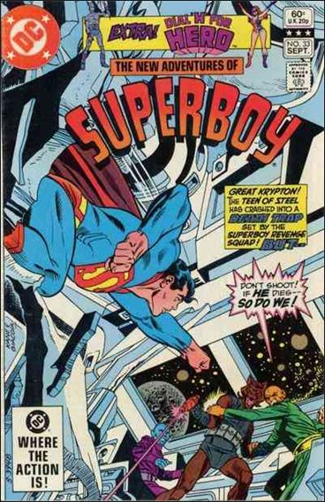 New Adventures of Superboy 33-A by DC