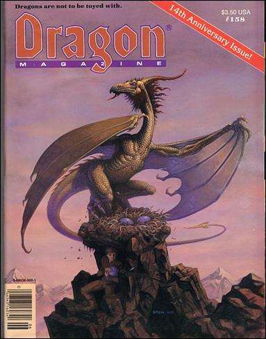 Dragon Magazine 158-A by Wizards of the Coast