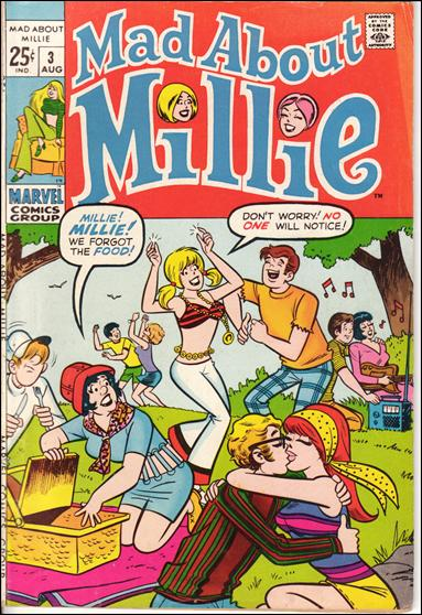 Mad About Millie 3-A by Marvel