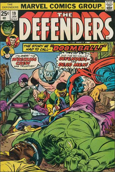 Defenders (1972) 19-A by Marvel