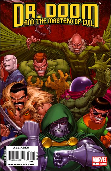 Doctor Doom and the Masters of Evil 1-A by Marvel