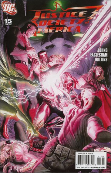 Justice Society of America (2007) 15-A by DC