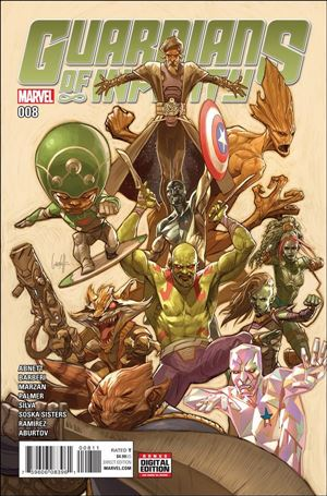 Guardians of Infinity 8-A