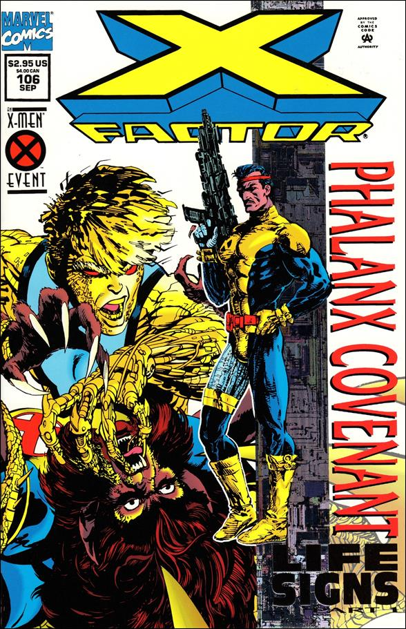 X-Factor (1986) 106-A by Marvel
