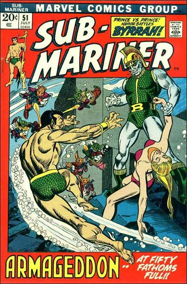 Sub-Mariner (1968) 51-A by Marvel