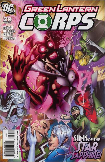Green Lantern Corps (2006) 29-A by DC