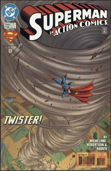 Action Comics (1938) 722-A by DC