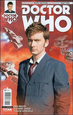 Doctor Who: The Tenth Doctor Year Two 1-B