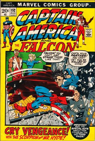 Captain America (1968) 152-A