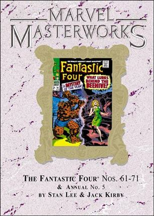 Marvel Masterworks: The Fantastic Four 7-D