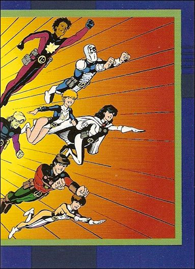DC Cosmic Teams (Base Set) 21-A by SkyBox