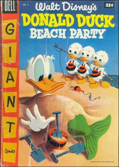 Donald Duck Beach Party 2-A by Dell