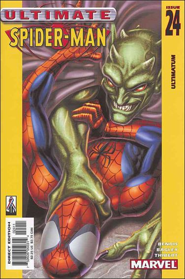 Ultimate Spider-Man (2000) 24-A by Marvel