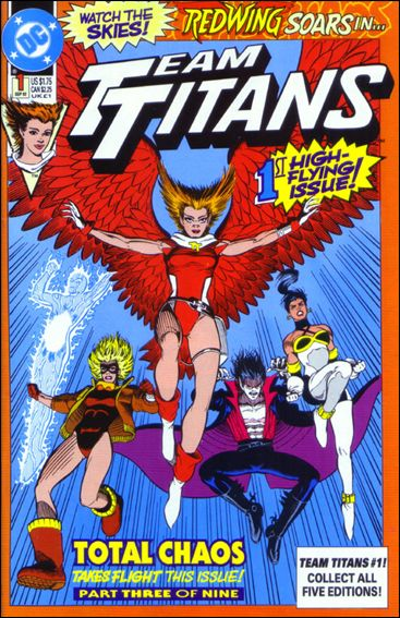 Team Titans 1-E by DC