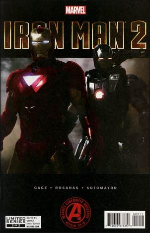 Marvel's Iron Man 2 Adaptation 2-A by Marvel