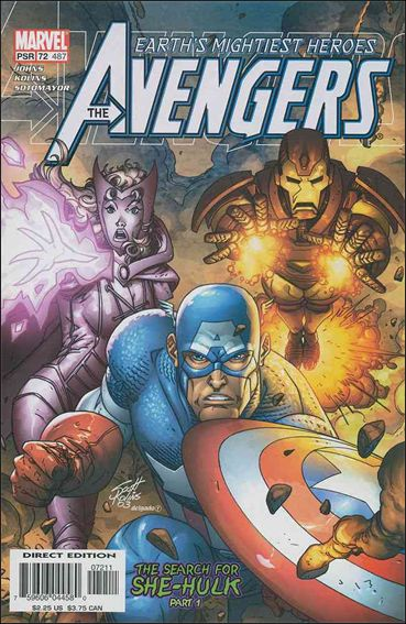 Avengers (1998) 72-A by Marvel