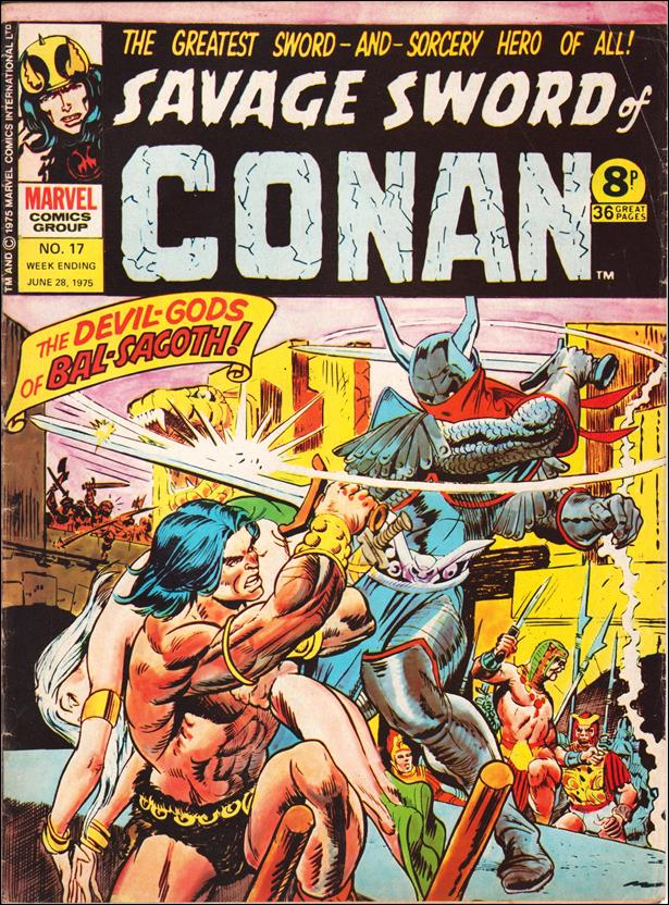 Savage Sword of Conan (UK) (1975) 17-A by Marvel UK