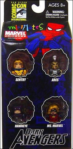 Marvel Minimates (Box Sets) Dark Avengers #2 4-Pack (2009 SDCC Exclusive) by Diamond Select