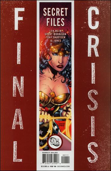 Final Crisis: Secret Files 1-A by DC