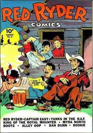 Red Ryder Comics 8-A